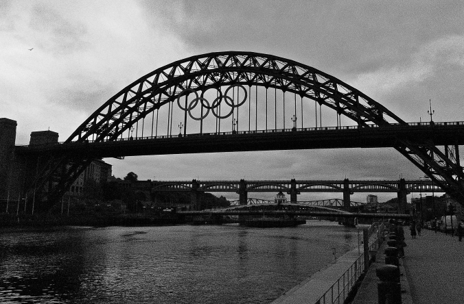 The Olympics Are Coming  (even to Newcastle!)